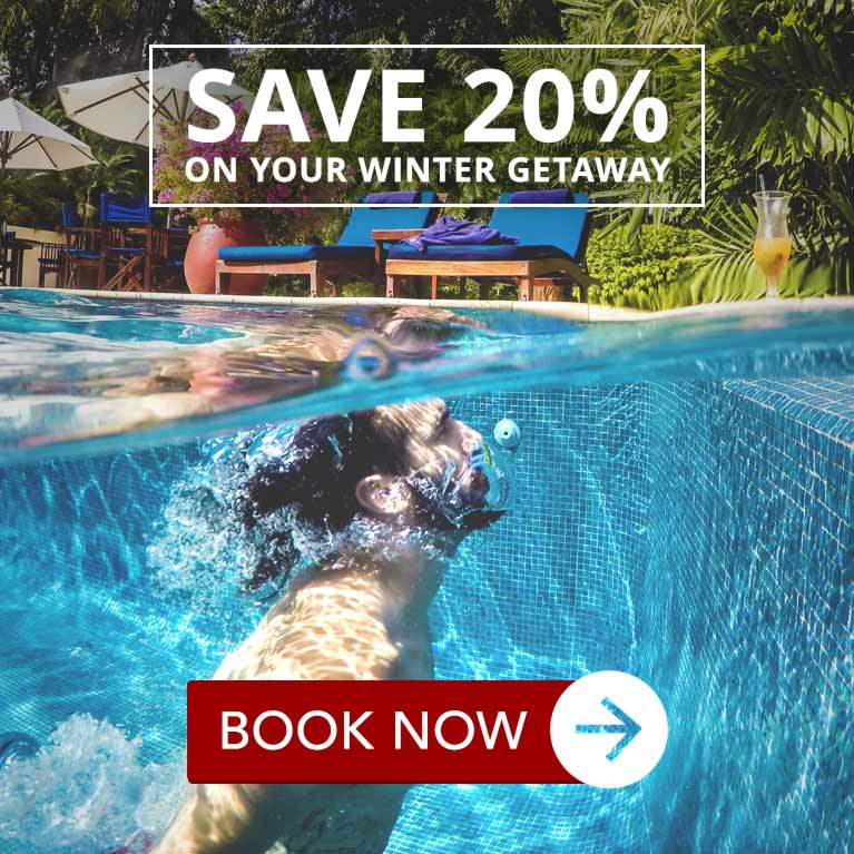 chaa creek Belize winter warmer offer