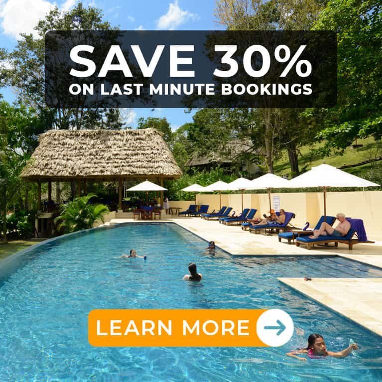 belize vacation deals last minute at Chaa Creek CTA Button
