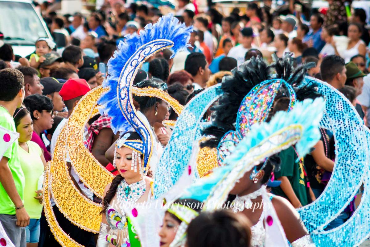 September in Belize is all about Carnival Celebrations for Independence Day