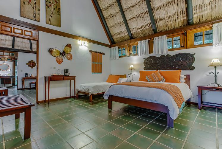 Belize complete jacuzzi suite chaa creek resort double room