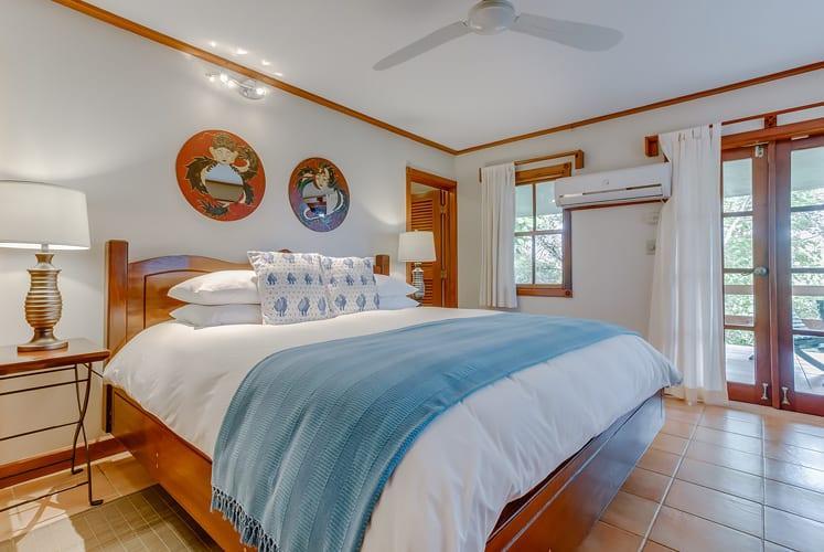 Belize luxury spa villa chaa creek resort master bedroom