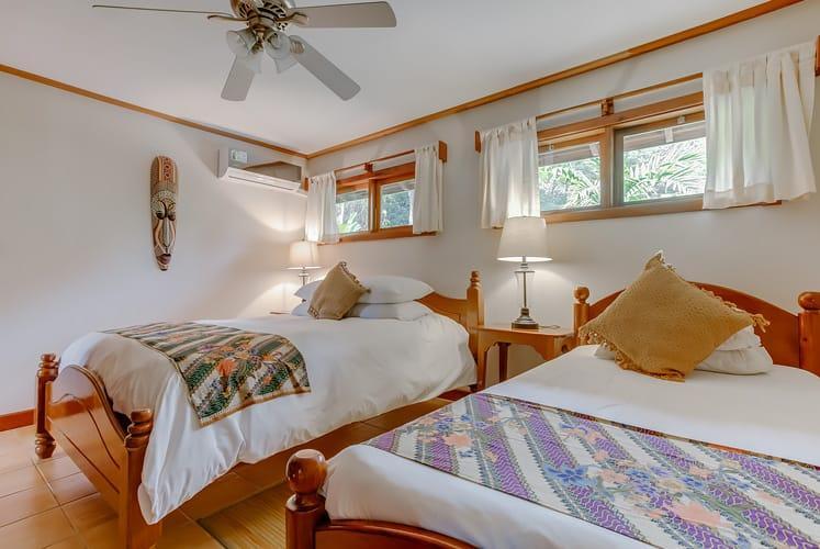 Belize luxury spa villa chaa creek resort master double room