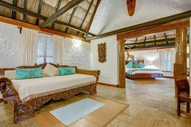 Belize macal jungle suite chaa creek bedroom view