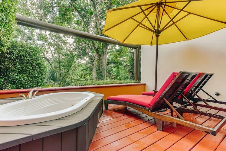 Belize macal jungle suite chaa creek outdoor jacuzzi