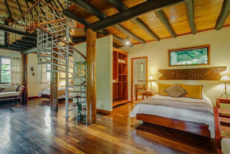 Belize orchard family villa chaa creek resort bed 1