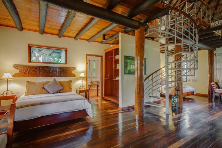 Belize orchard family villa chaa creek resort bed 2