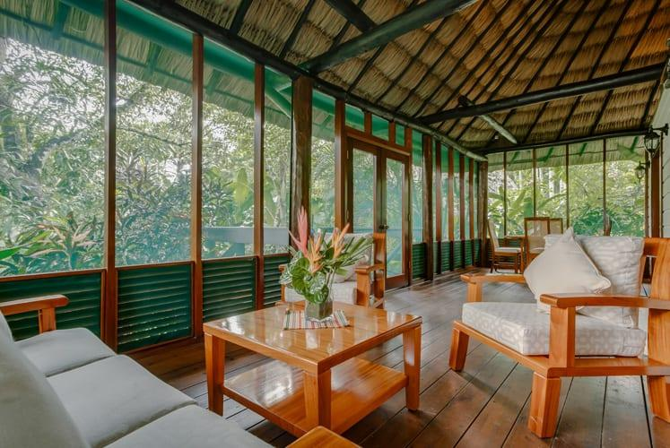 Belize orchard family villa chaa creek resort patio