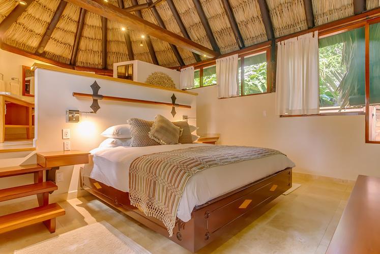 Belize treetop jungle villas chaa creek bedroom