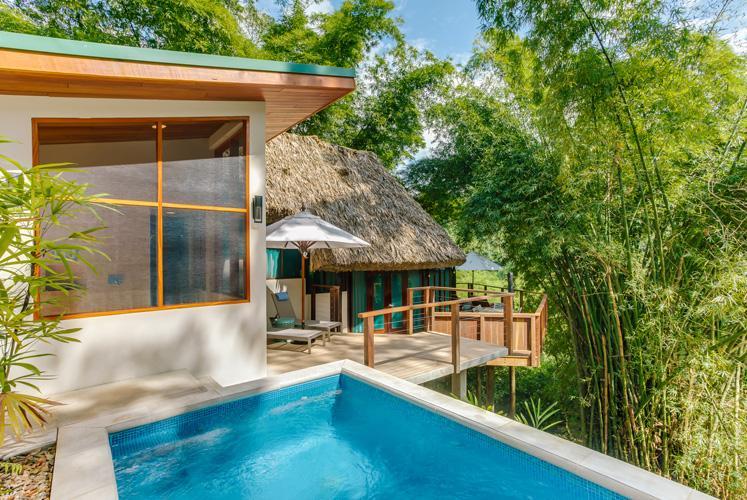 Belize treetop jungle villas chaa creek exterior