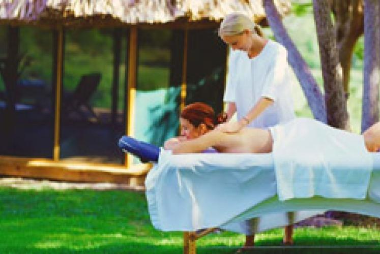Belize spa resort massage thumb