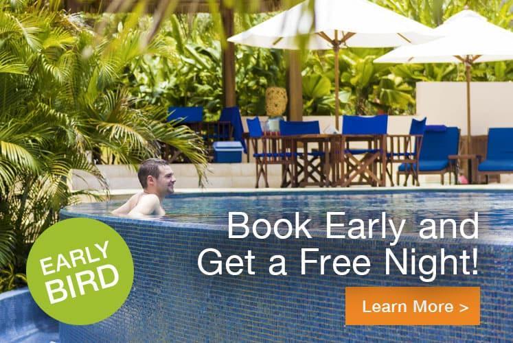 Belize travel deals early bird offer 2021 at chaa creek resort