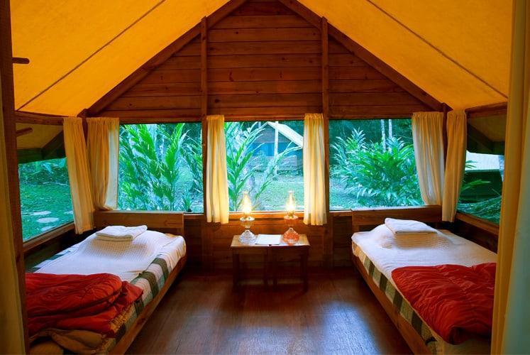 macal river jungle camp chaa creek casitas interior