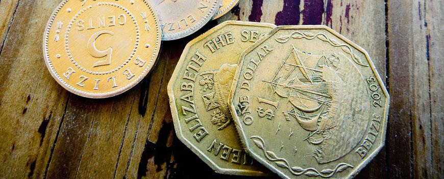 Belize Currency Dollar Coins