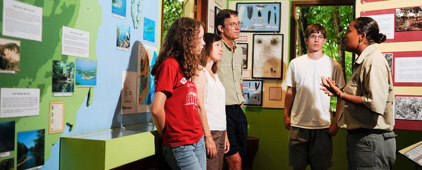 Belize Family Vacations at Chaa Creek's Natural History Center