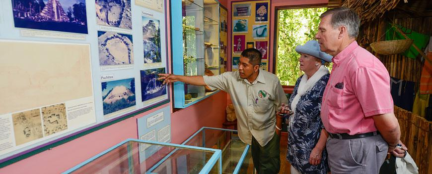 Belize Natural History Center at Chaa Creek with Naturalist Guide