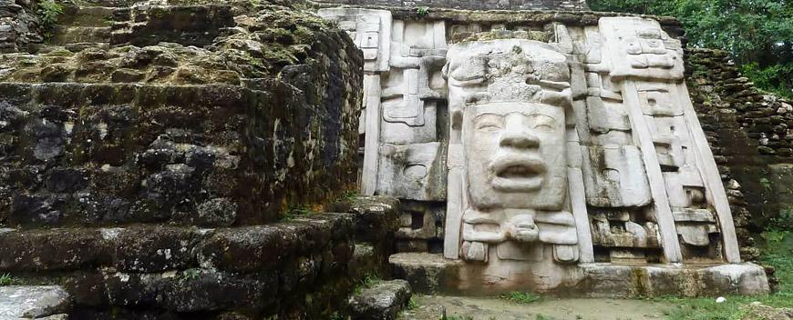Belize Orange Walk District Altun-Ha Mayan Ruins
