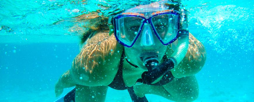 Snorkeling the Great Barrier Reef in Belize - the second largest reef system in the western hermisphere!