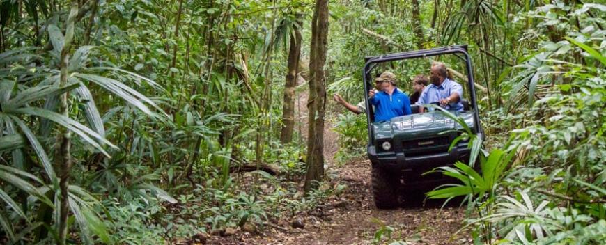 Belize november travel offers at Chaa creek eco lodge