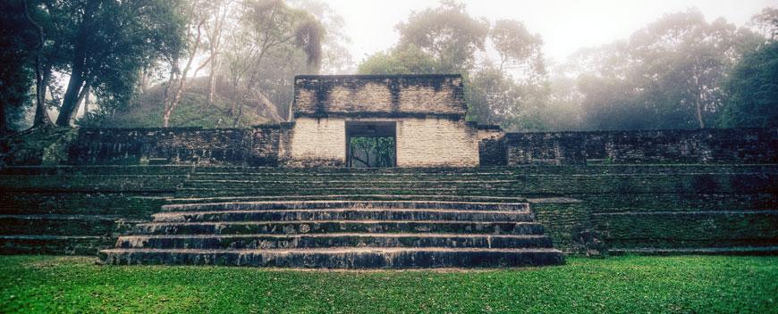 Cahal Pech Maya Ruin Belize
