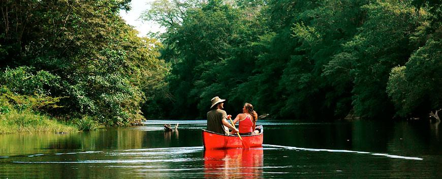 Belize Canoeing Tour