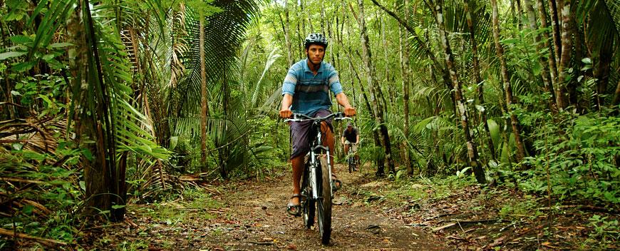 Belize Mountain Biking Tours, Belize Adventure