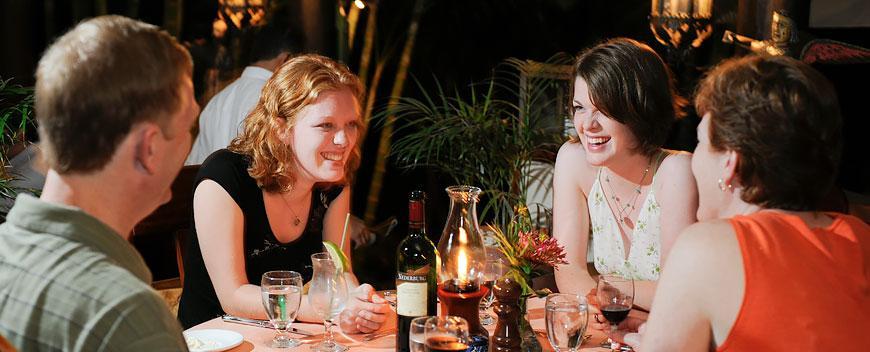 La Mariposa Restaurant Belize Family Dining