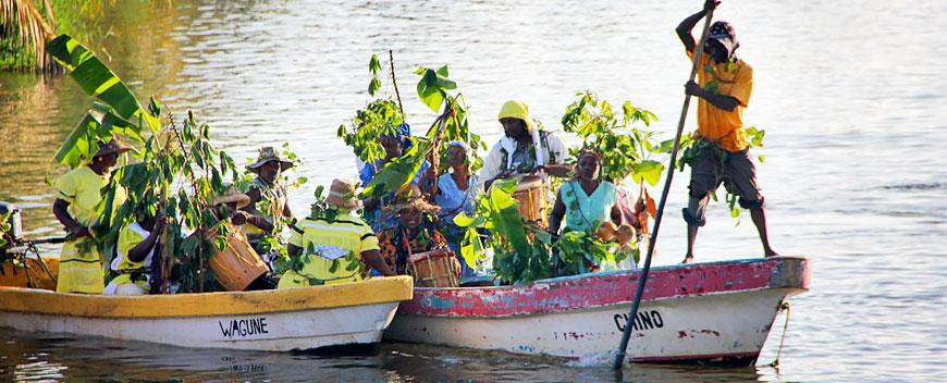 Belize Stann Creek District is home to the world famous Garifuna Settlement Day