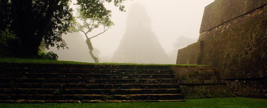 Visit Tikal Mayan Ruins in Peten Guatemala