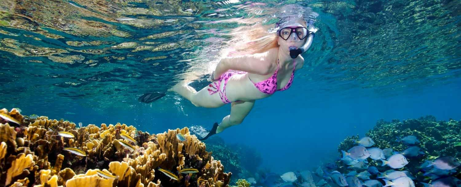 Belize snorkeling with Chaa Creek's all inclusive belize vacation package