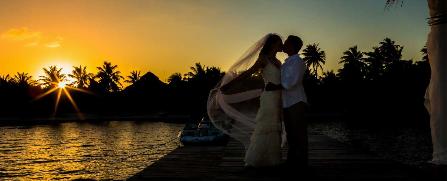 A dream wedding on Ambergris Caye in Belize with Chaa Creek