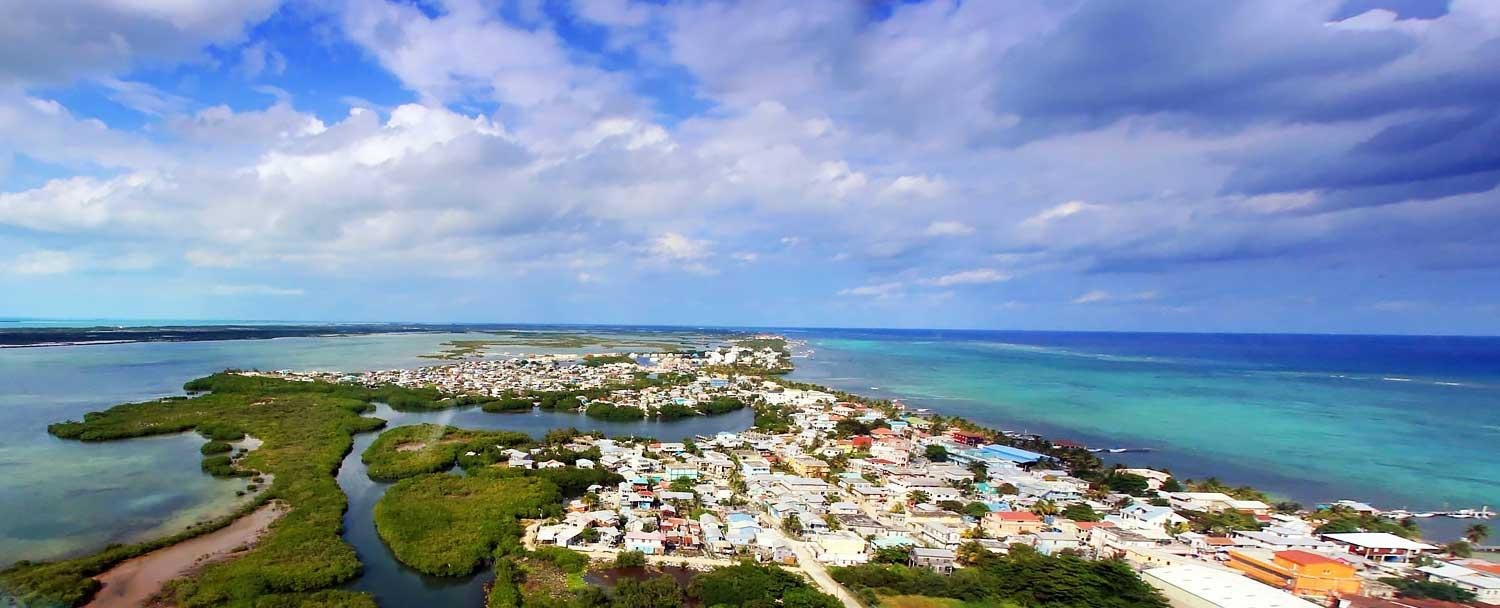 Ambergris Caye is the #1 Island in Belize, known as San Pedro or La Isla Bonita