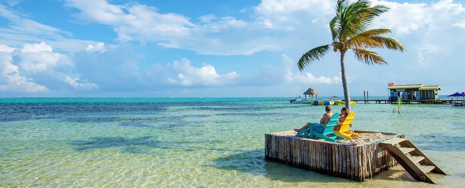 Ambergris Caye is perfect for relaxation