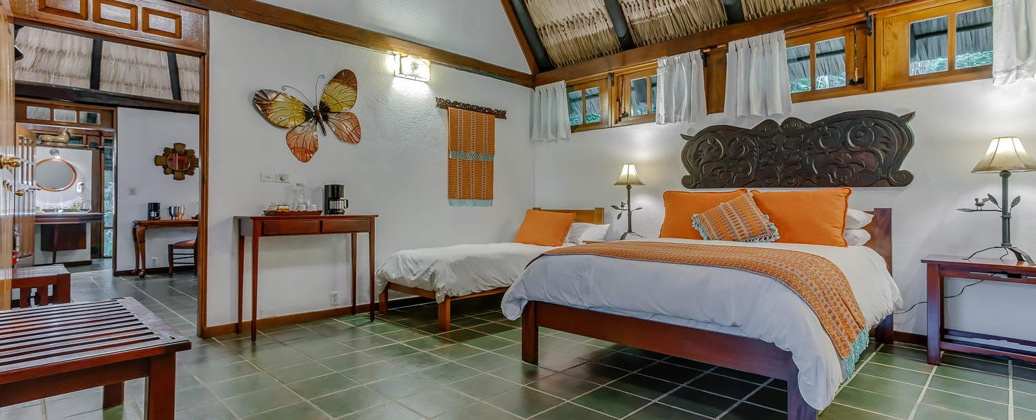 belize garden suite accommodations at chaa creek resort