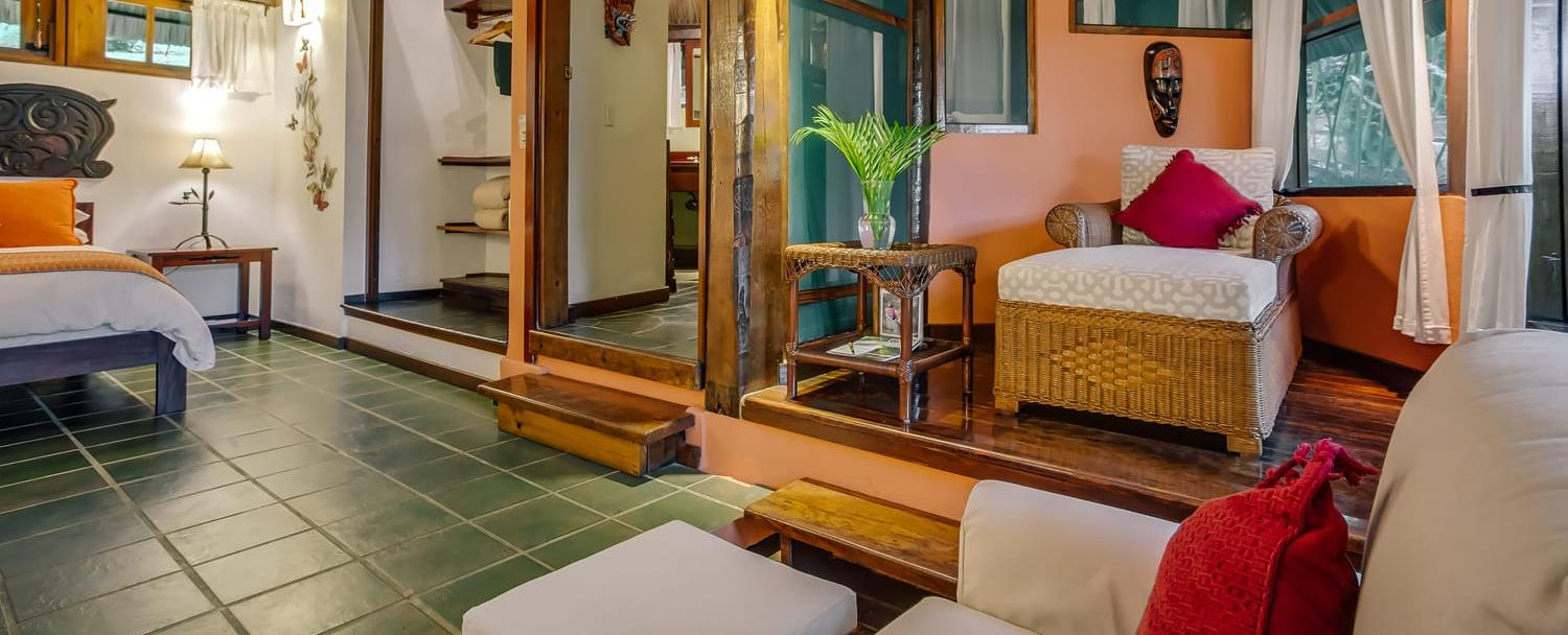 belize garden suite guest room at chaa creek resort