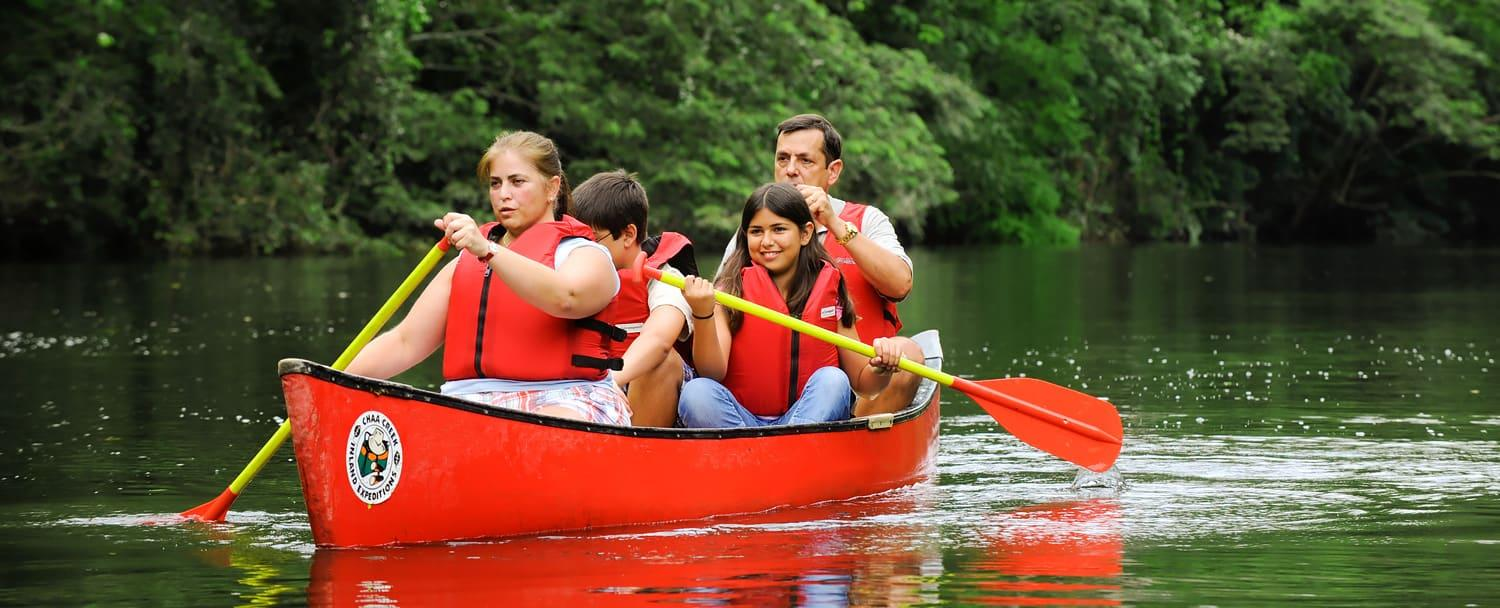 belize adventure inclusive vacation chaa creek canoeing