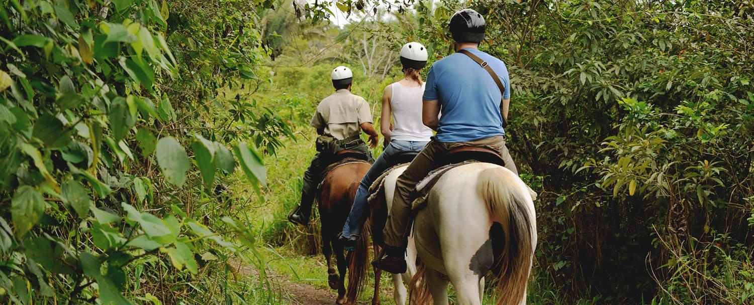 Belize adventure inclusive vacation horseback riding at chaa creek
