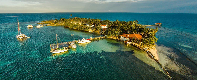 Belize all inclusive beach jungle vacation package chaa creek raye Caye island