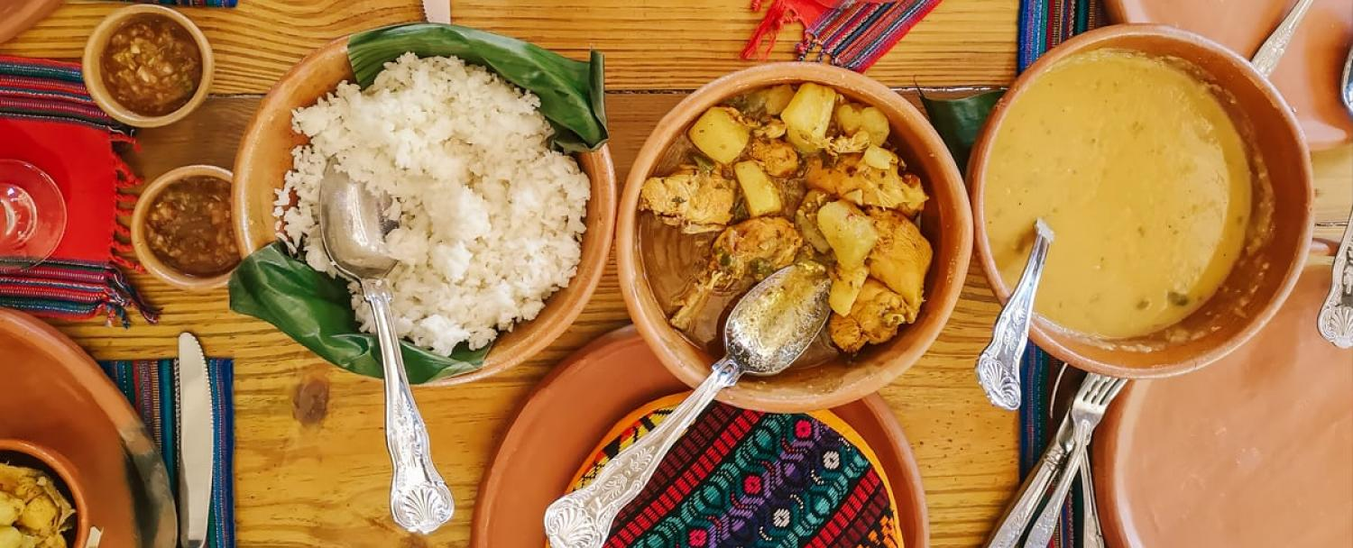 Chaa Creek Belize Open Hearth Cultural Cooking Classes east indian food