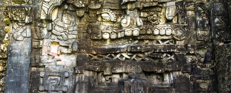 Mayan Runis Caracol City
