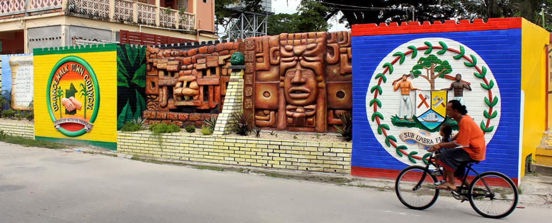 Belize Orange Walk District Mural