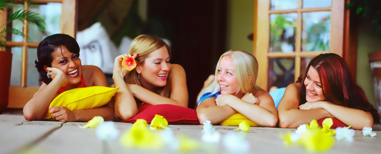 Belize Wellness Spa Ladies Having Fun