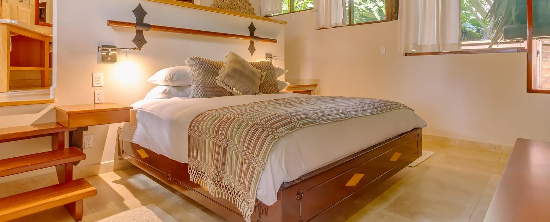 Belize Luxury Treetop Suites bedroom at Chaa Creek Eco Resort