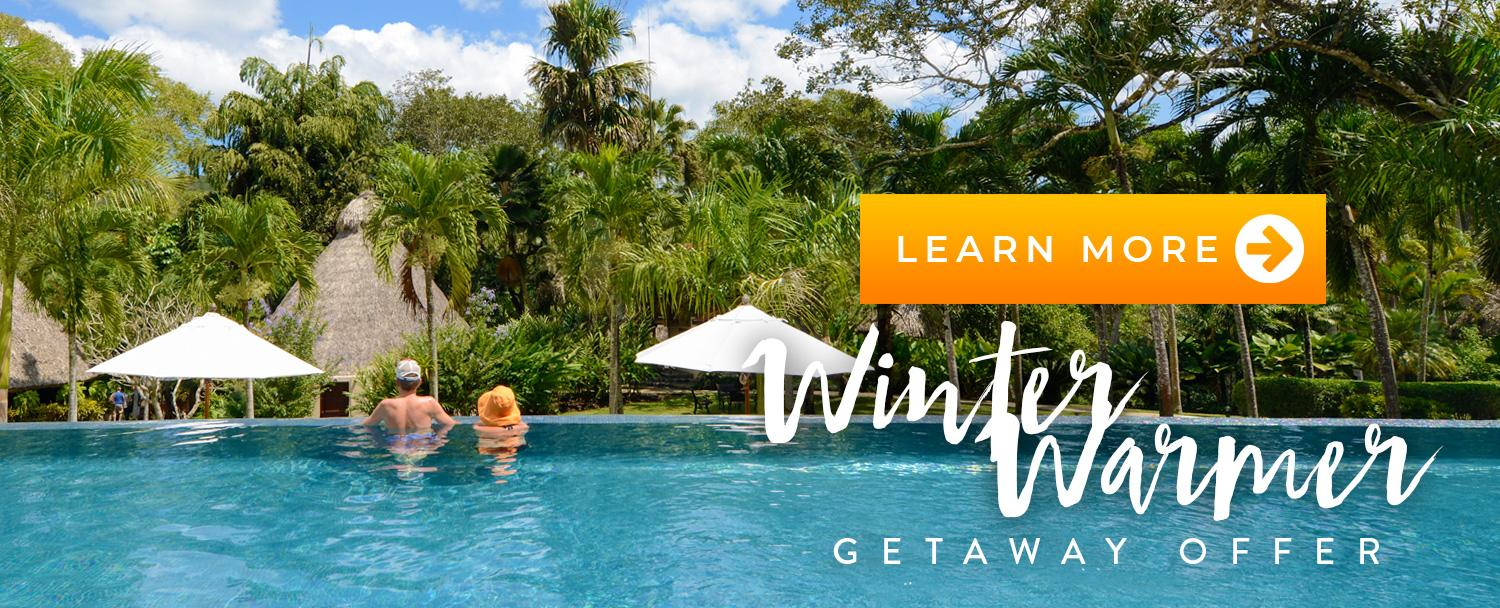 Belize Winter Warmer Getaway at Chaa Creek Resort