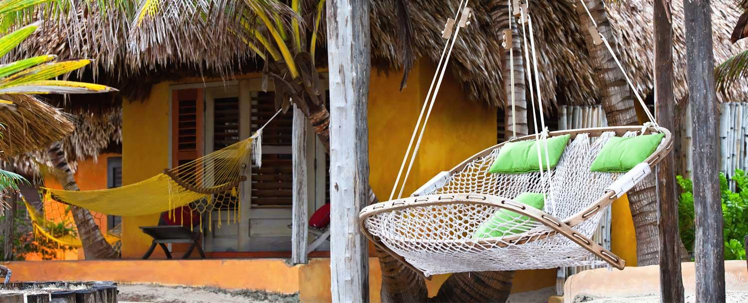 Belize all inclusive vacation package exterior on Ambergris Caye by Chaa Creek