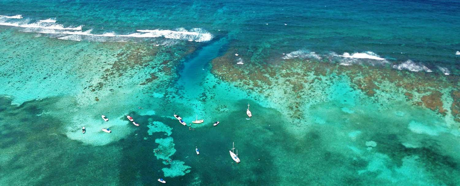 Belize Barrier Reef Boats