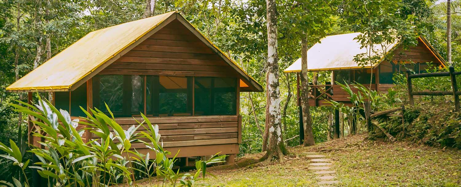 Belize glamping experience at the Macal River Camp