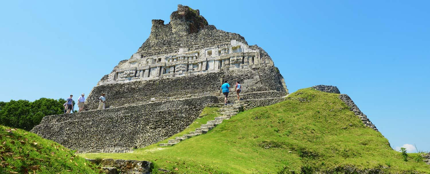 Visit Belize Xunantunich Mayan Ruin on our Christmas Vacation Package
