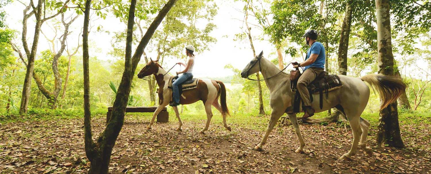 Belize Horseback Riding Reserve Chaa Creek