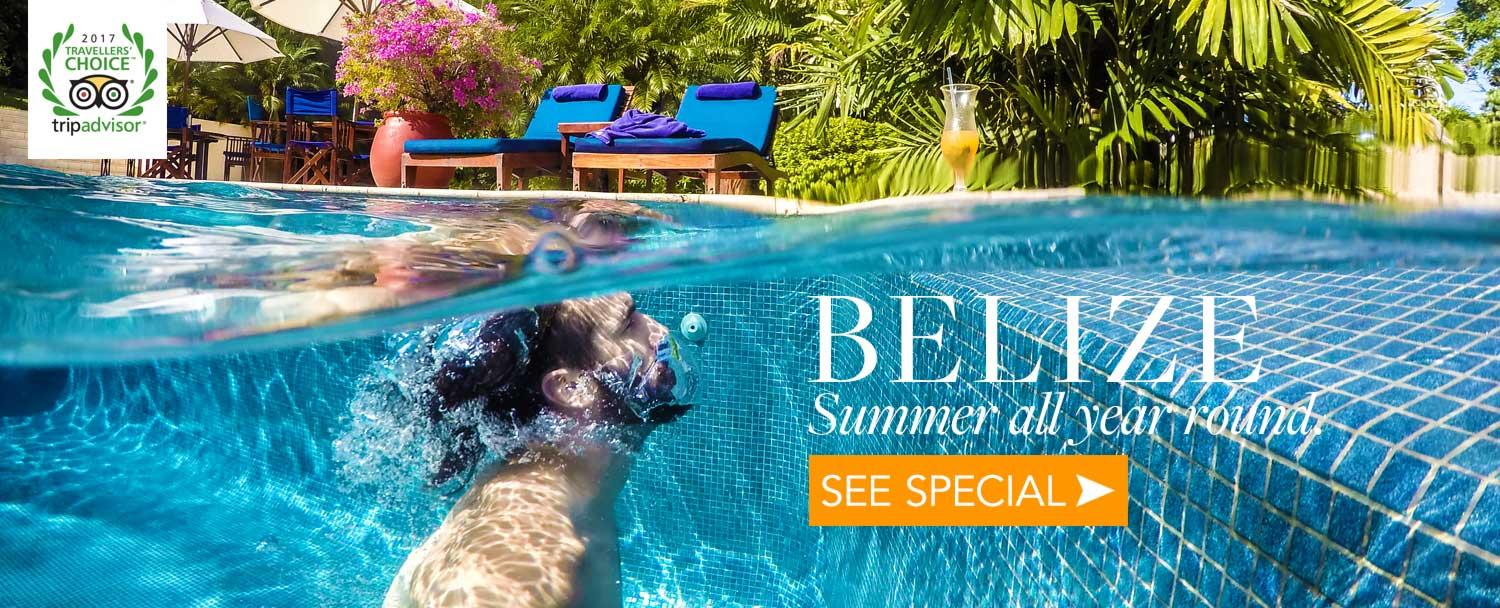 Belize Luxury Resort Chaa Creek Offers Belize Travel Deal Winter Warmer