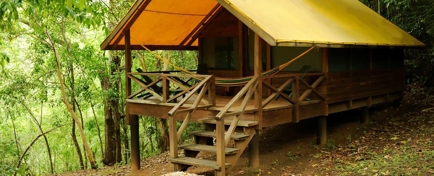 Camp casitas is perfect for travelers wanting to travel Belize on a budget